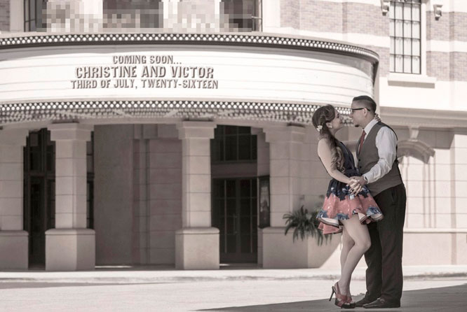 Christine and Victor Save the Date