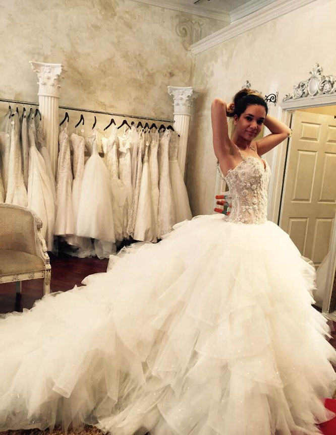 Christine's story: Dress shopping