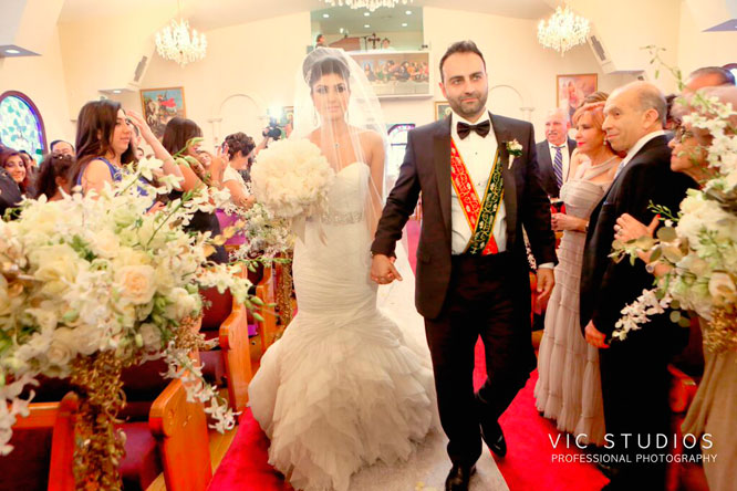 Armenian Wedding Tradition: The Red & Green Ribbon Ceremony