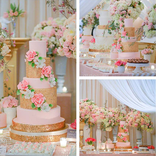 Summer Wedding Dessert Table Ideas