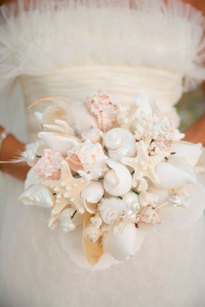 Seashells Bridal Bouquet