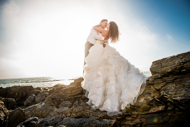 Christine and Victor Trash the Dress