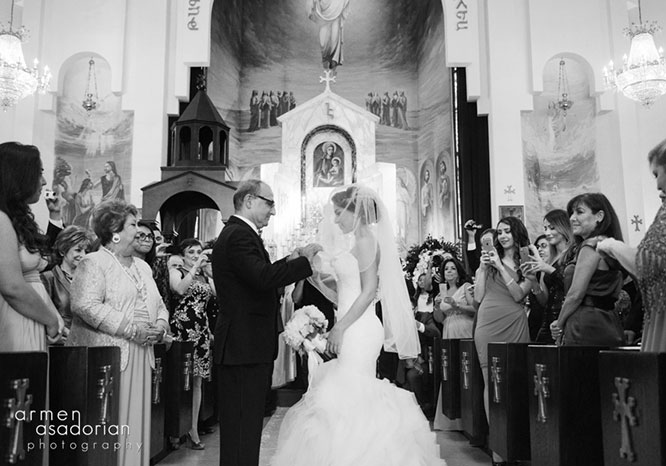 Father Daughter Lifting the Veil