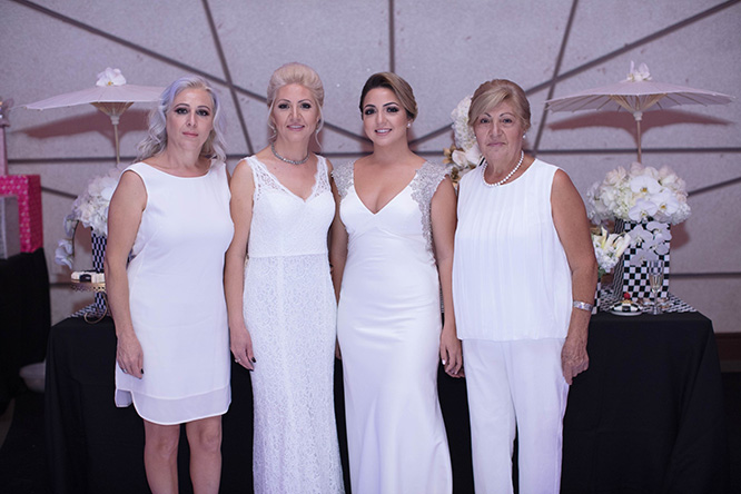 Mary's All White Bridal Shower