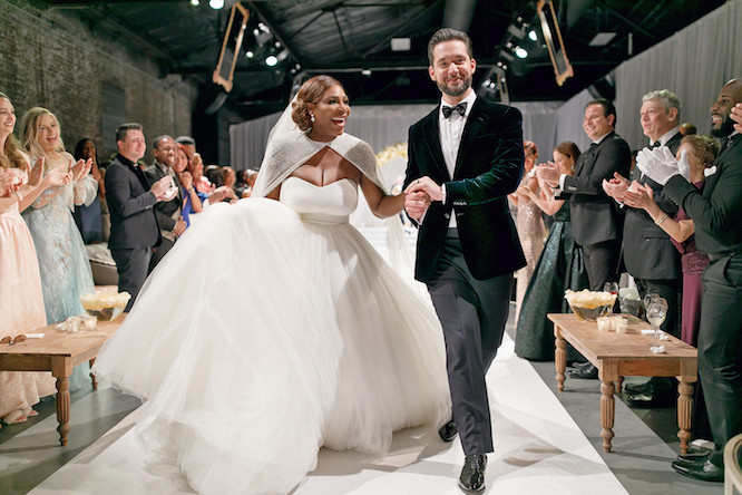 Alexis Ohanian, Sr and Serena Williams Featured Wedding