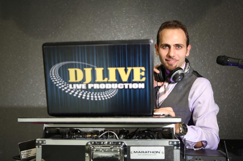 DJ Live, Armenian DJ from Iran