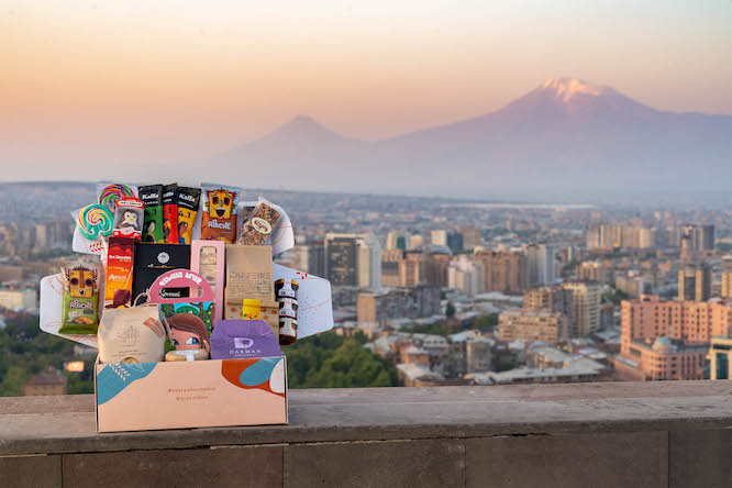 Buy Armenian Gift Guide: Ararat Gift Box Subscription from Armenia